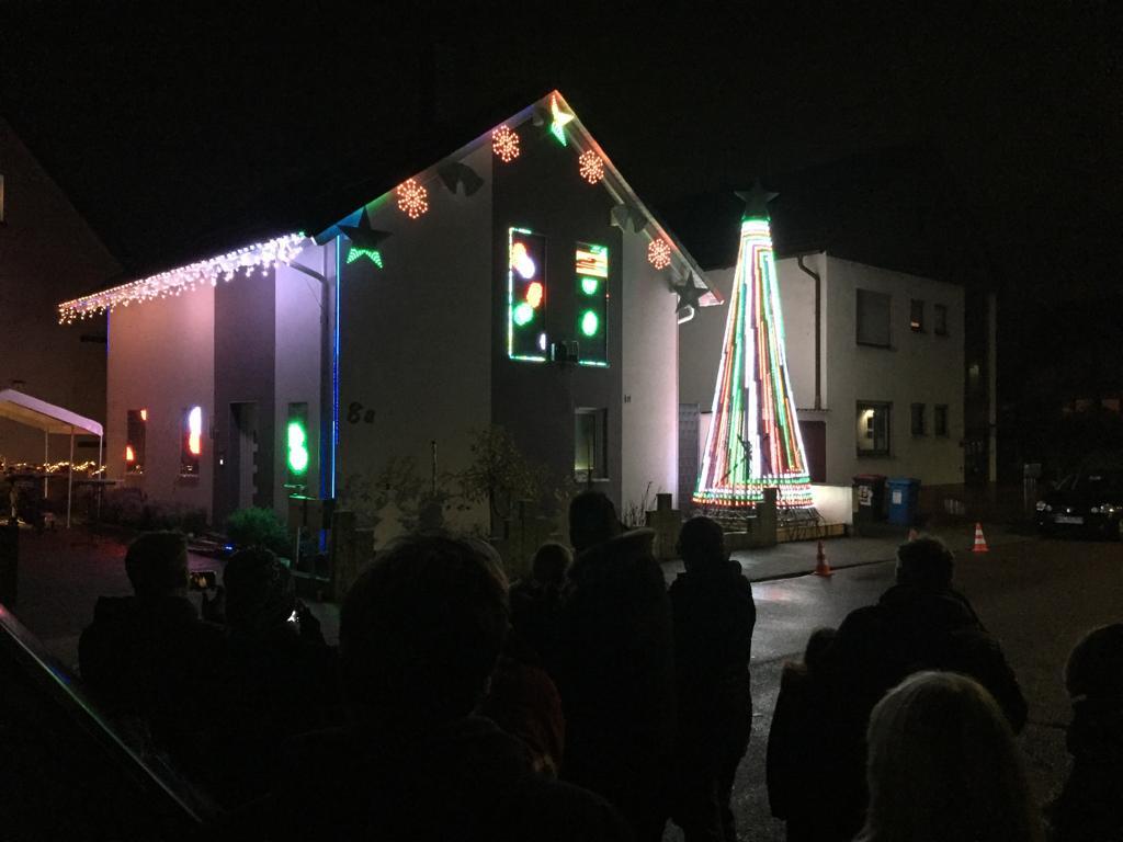 Weihnachtshaus Neureut