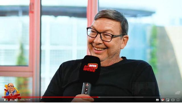 Tatort-Schauspieler Ferdinand Grötzinger aus Rastatt erzählt bei der Martin Wacker Show auf der neuen welle seinen ungewöhnlichen Karriereweg. Foto: dnw