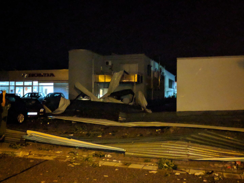 Ein Unwetter hat in Bruchhausen ein Chaos hinterlassen. Foto: dnw /as