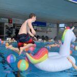 Anbaden-Sonnenbad-Karlsruhe-Freibadsaison-Eröffnung-Einhornspringen