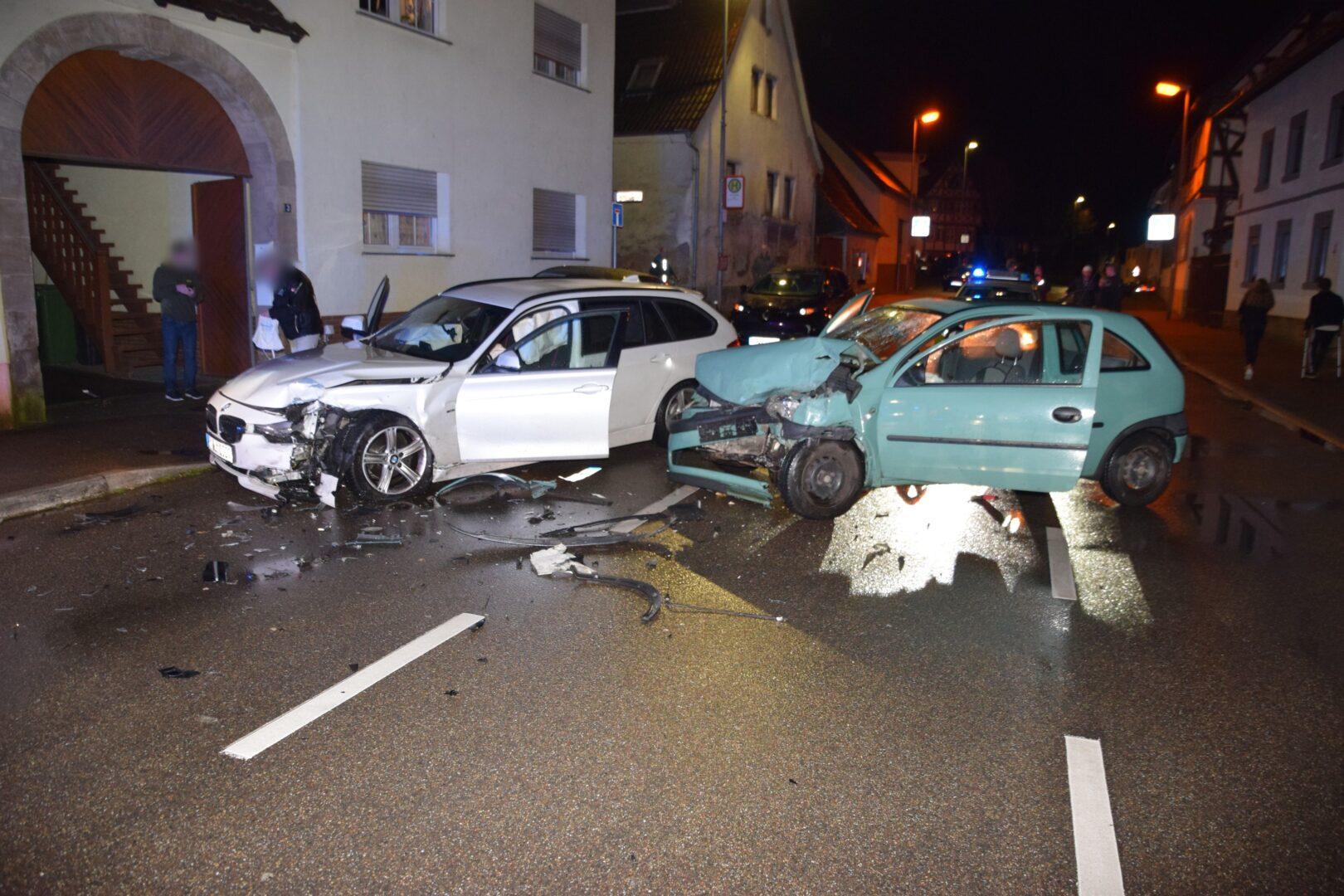 Unfall Odenheim